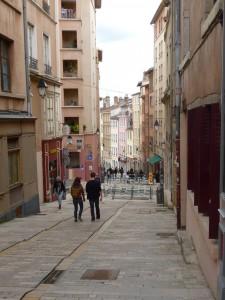 Croix-Rousse street