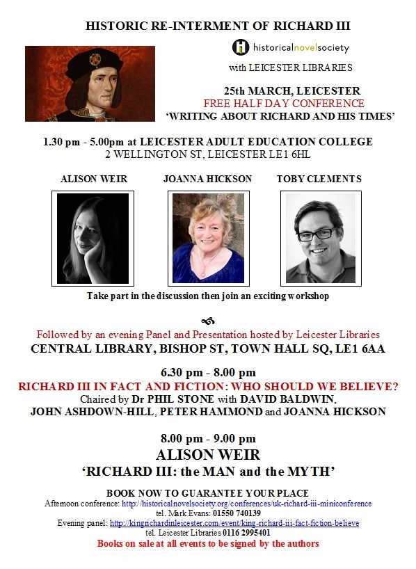 Richard III Events Flyer 2 JPEG